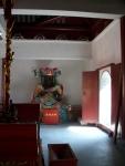 inside a temple at Egret Shoal Park