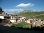 Serti Gompa village